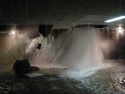 water pipe break & water pipe break - YouTube