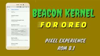 Beacon Kernel On Redmi 5