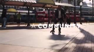 Patins à roulettes Cardiff Skate disponibles sur Norauto.fr