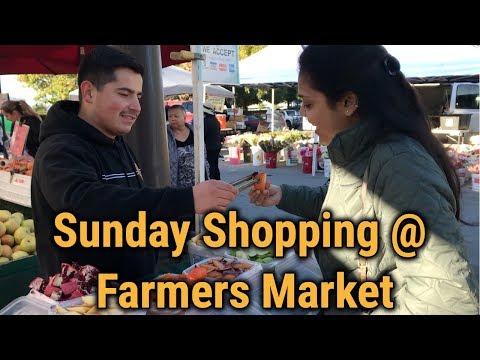 காலிஃபோர்னியாவிலே உழவர் சந்தை Milpitas Farmers Market USA#OneDayTrip Vlog#11