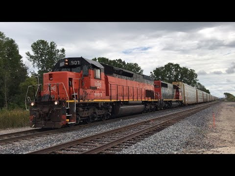 Railfanning Around Fond Du Lac, WI 9/7/19 And 9/8/19