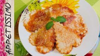 Паста (макароны-сердечки) с томатным соусом / Pasta (cuoricini artigianali) al pomodoro