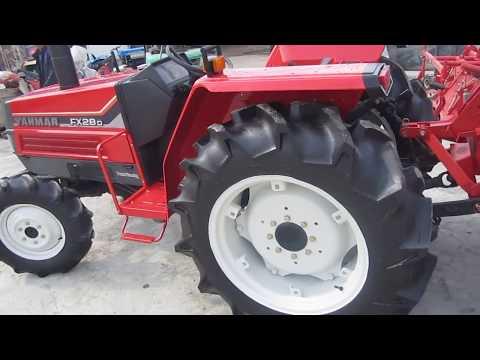 ΤΡΑΚΤΕΡ YANMAR FX28 4WD 4X4 www.trakter.com ΤΑΓΤΑΛΕΝΙΔΗΣ