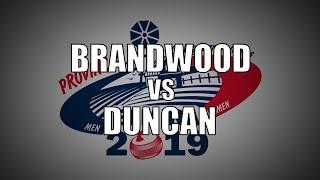 2019 ONT STOH - Brandwood vs Duncan