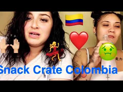 Snack Crate Colombia *watch full video* (extremely hilarious)