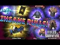 Rules of Survival // *INSANE* OPENING // Advanced Supply Drops and  Remodels!