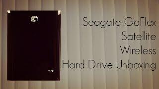 Seagate GoFlex Satellite Wireless Hard Drive Unboxing
