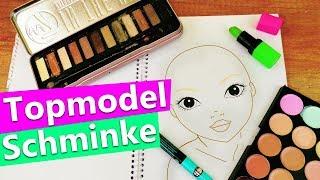 Topmodel Gesicht mit ECHTEM Makeup malen! Geht das?! DIY KIDS Experiment