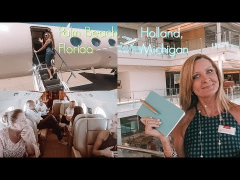 DAY IN THE LIFE OF AN ARCHITECT/INTERIOR DESIGNER: Flying to Michigan On A Private Jet!!