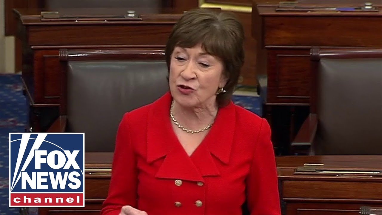 Sen. Collins announces plan to vote to acquit on both articles of impeachment - FOX News