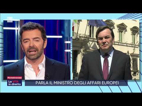 L'Europa deve muoversi - La vita in diretta 01/04/2020