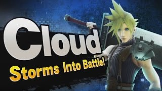 CLOUD STRIFE IS IN SMASH BROS! MY REACTION!