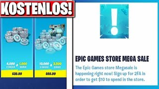 "🎁 GIFT of EPIC GAMES Soon!! 10"" FREE in FORTNITE!! (MEGA SALE)"