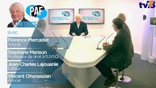 PAF – Patrice and Friends – Emission du 22 décembre 2017