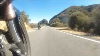 January 2013 Ride in southern California on 09 Daytona 675