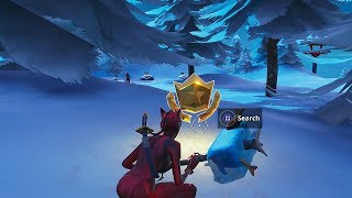 "Season 7 ""Search Between Three Ski Lodges"" Challenge Guide - Fortnite Battle Royale"
