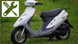 Ремонт Скутера Honda Dio 27. Часть 1. Дедушкин Вариант | Самый Лучший Заработок на Автомате