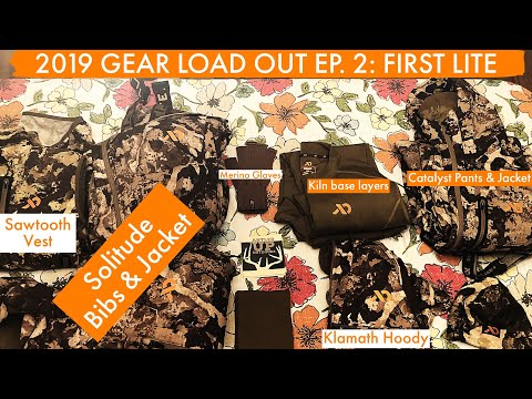 2019 GEAR LOAD OUT EP.2: FIRST LITE WHITETAIL SYSTEM!!!