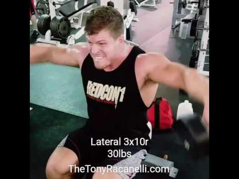 TheTonyRacanelli.com Pushing Weight