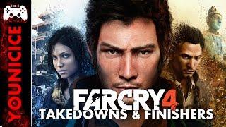 Far Cry 4 Takedowns & Finishers   Finishing Moves   Kill Compilation   Kill Montage   Combat   YouNicIce