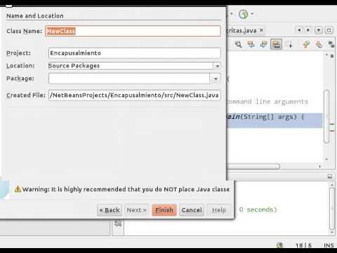 Estructura De Un Proyecto En Java