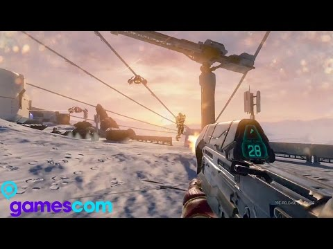 Gamescom 2015 - Halo 5 Multiplayer Gameplay Trailer (Halo 5: Guardians Multiplayer Gameplay)