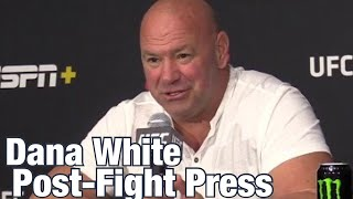 Dana White says Anderson Silva won't fight in UFC again | UFC Vegas 12 Post