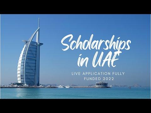 Scholarships in UAE 2022   Fully Funded Mohamed bin Zayed University Scholarships   Dubai Visa free