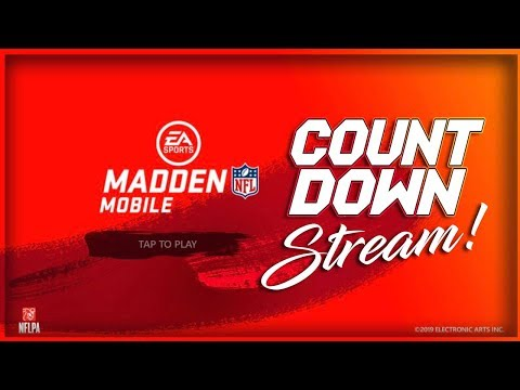 Madden Mobile 20 Livestream Countdown To The Game!!
