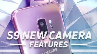 Samsung Galaxy S9: New Camera Features