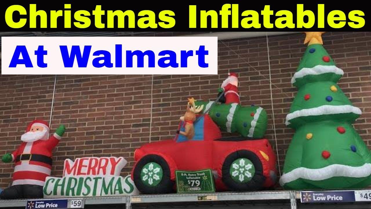 Christmas Inflatables At Walmart