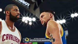 Warriors Vs Cavaliers NBA FINALS Game 4 | KD MVP | NBA 2K17