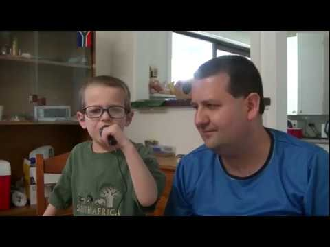 6 year-old Noah's song -
