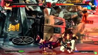 2015/6/6 GGXrd Mikado 3on3 Part 1