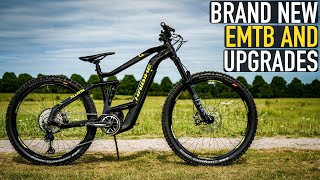 BRAND NEW EMTB & UPGRADES// HA…