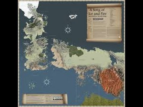 Game Of Thrones World Maps Youtube