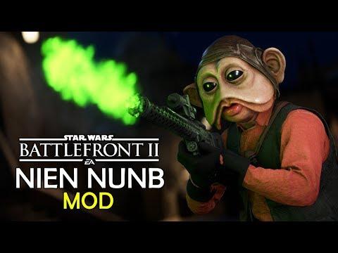 [MOD] Playable NIEN NUNB Hero in Star Wars Battlefront 2