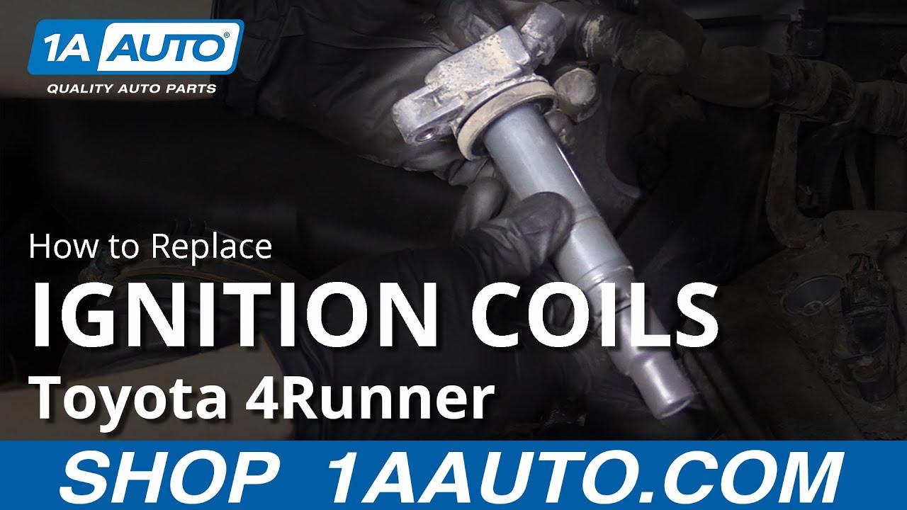 03 toyota 4runner efi wiring how to replace ignition coils 03 09 toyota 4runner youtube  ignition coils 03 09 toyota 4runner