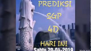 Tarikan Paito Sgp 4D Sabtu 20 April 2019