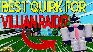 [NEW CODE!] BEST QUIRK FOR VILLAIN RAID MODE!? | BOKU NO ROBLOX REMASTERED!? | ROBLOX |