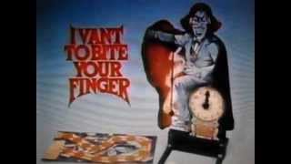 I Vant to Bite  Your Finger  (Game) -  Advert 1979 Hasbro / Ideal