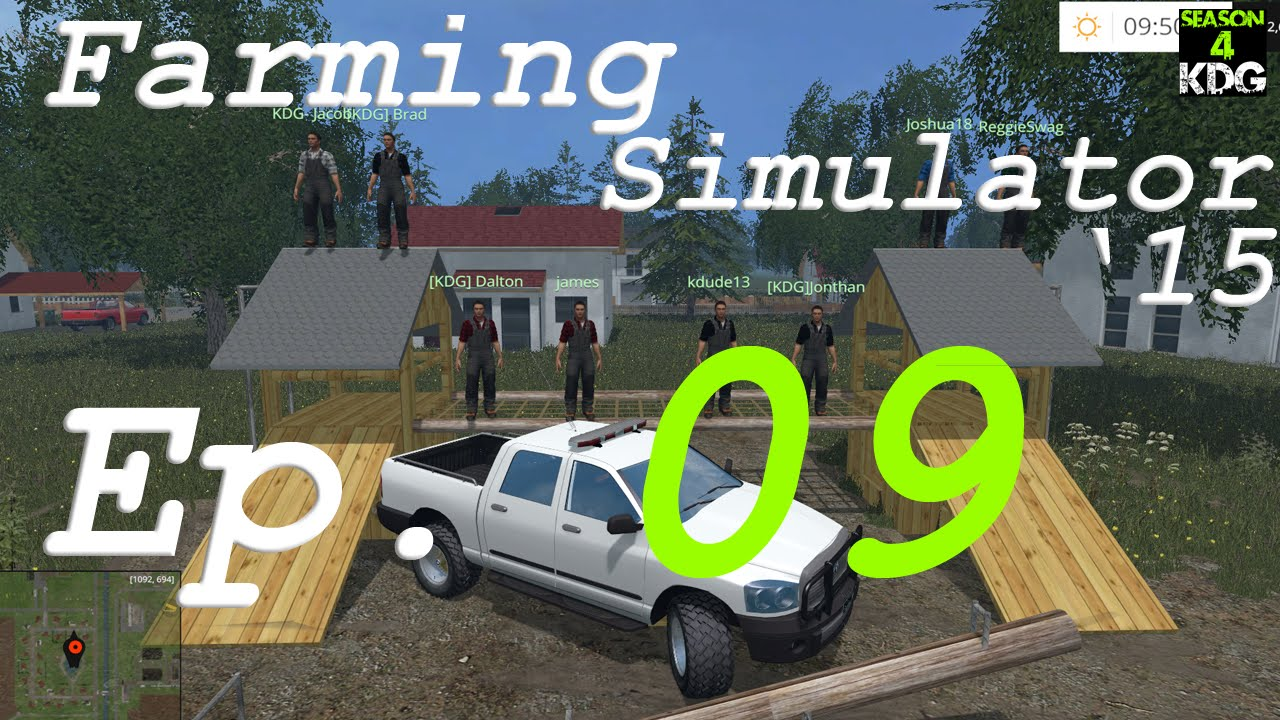 S4R Let's Play – Farming Simulator 15 Ep. 9 – Cultivation Simulator Much?