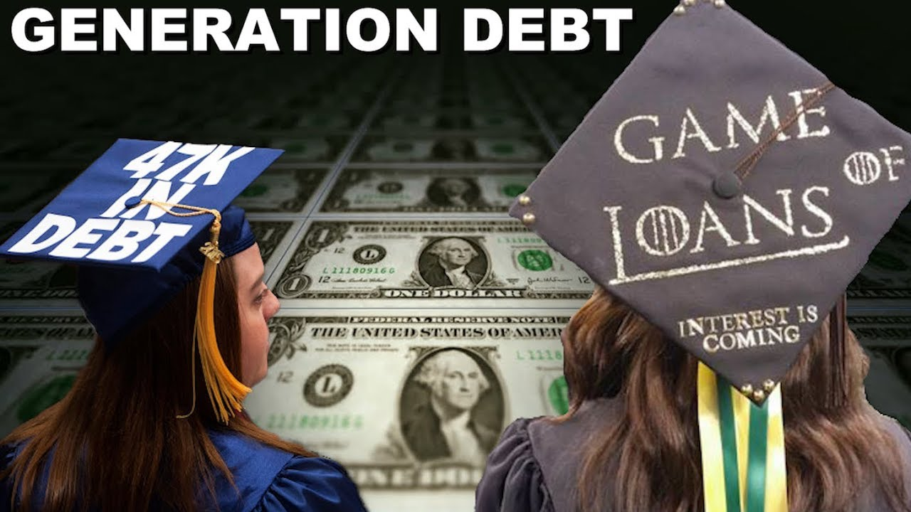 generation debt Shaped by the recession and student loan debt, millennials are fiscally conservative here's how they could impact the economy.