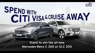 Spend With Citi Visa & Cruise Away Campaign 2019