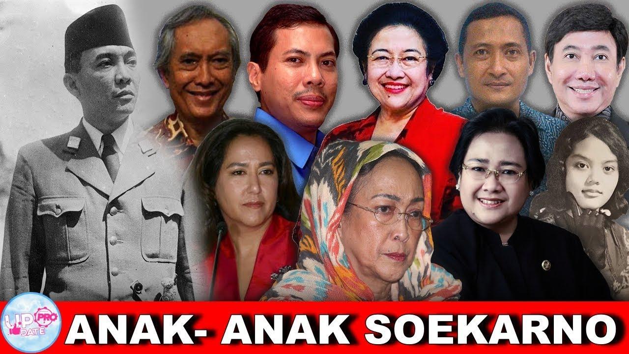 Ada 2 Anak Rahasia Soekarno Inilah 11 Anak Presiden Bapak Soekarno Yang Menarik Untuk Diketahui Youtube