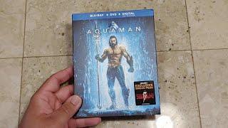 Aquaman Blu-Ray, DVD, Digital Unboxing!