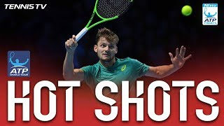 Hot Shot: Goffin Shocks Nadal With Curling Passing Shot Nitto ATP Finals 2017