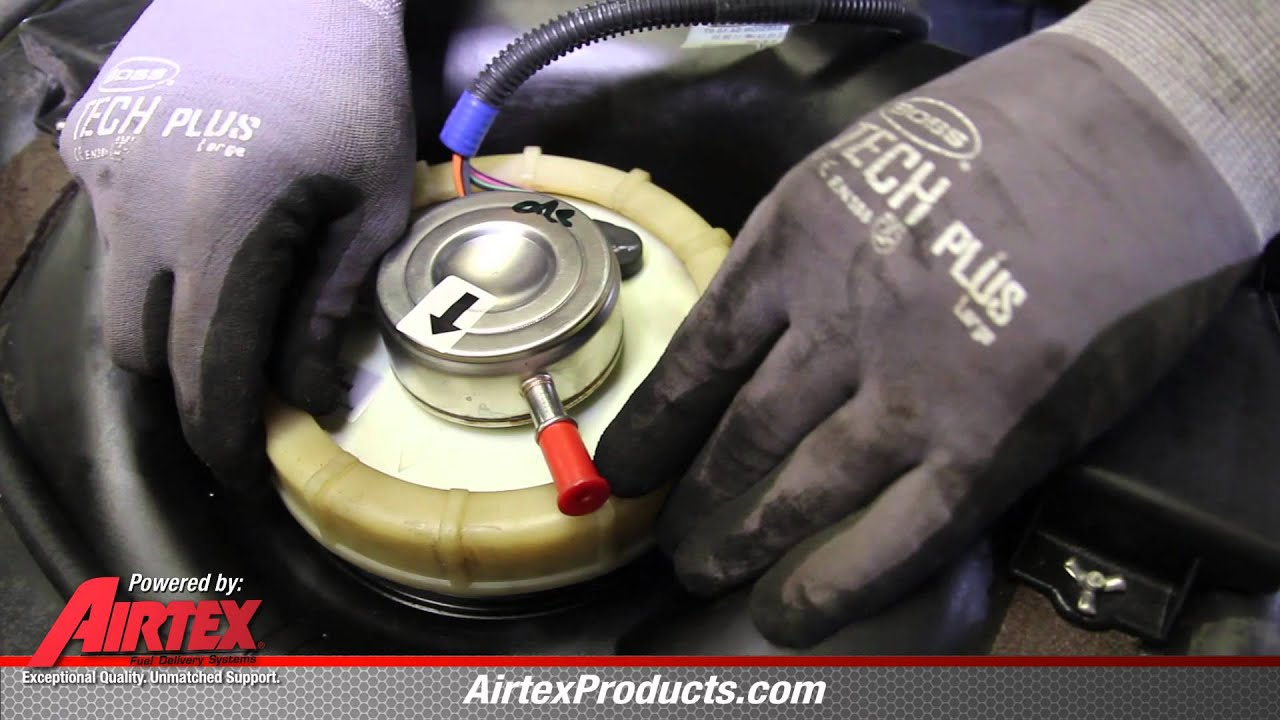 How to Install Fuel Pump E7115MN in a 1997  2002 Jeep Wrangler, TJ  YouTube
