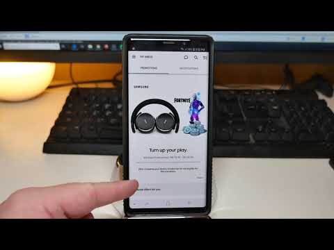 Note 9 How To Redeem Free Promotional Gifts | Fortnite 15,000 V-bucks Or AKG N60 Headphones