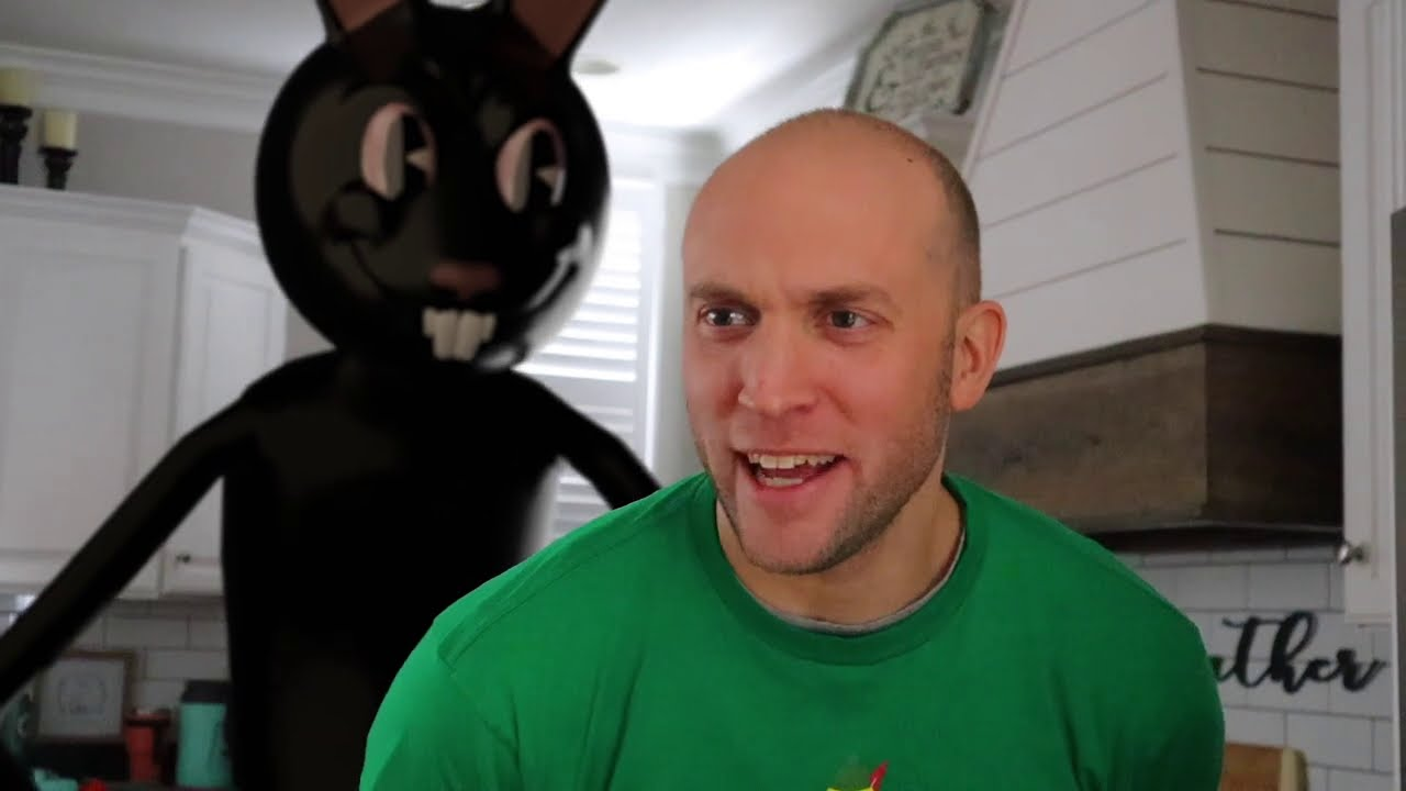 Download Cartoon Rabbit Found Us!  Christmas Horror!